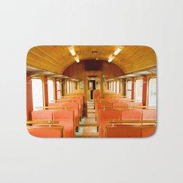 Vintage Train Bath Mat