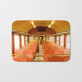 Vintage Train Bath Mat