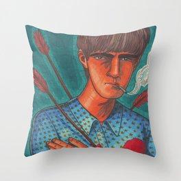 Seymour, the Human Target Throw Pillow
