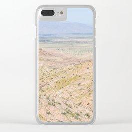 Desert Daze Clear iPhone Case