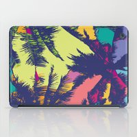 palm tree iPad Cases featuring Palm tree by PINT GRAPHICS