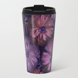 Pink and violet poppies Travel Mug