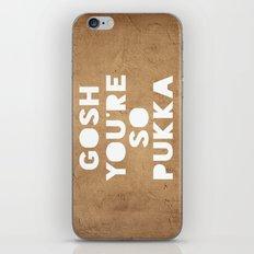 Gosh (Pukka) iPhone & iPod Skin