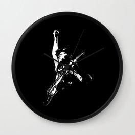 Guitar Legend Wall Clock