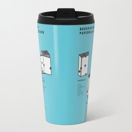 Bookbinding – About Paperback and Hardcover (in English) Travel Mug