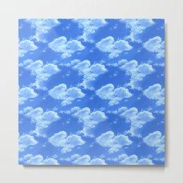 Blue Skies Photographic Pattern #1 Metal Print
