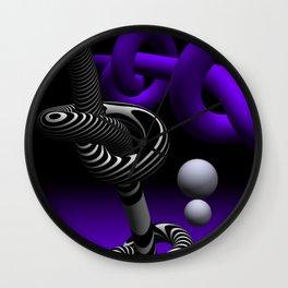 go violet -15- Wall Clock