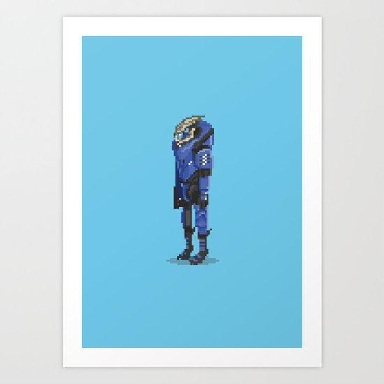 Mass Effect - Garrus Vakarian Art Print