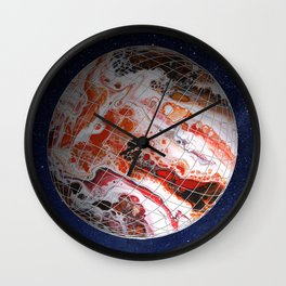 Interplanetary Wall Clock