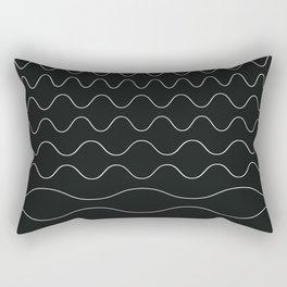 between waves Rectangular Pillow