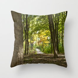 In the Forest Throw Pillow