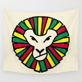 Lion Rastafari Wall Tapestry