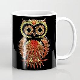 String Art Owl Coffee Mug