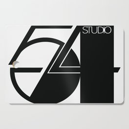 Studio 54 Art Print, Black White Poster, Art Prints, Fashion Print, Minimalist Print, Modern Art, Mi Cutting Board