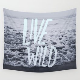 Live Wild: Ocean Wall Tapestry