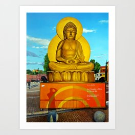 In Arte, Buddha Art Print