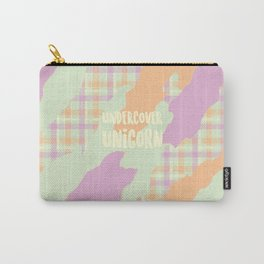 Undercover Unicorn Carry-All Pouch