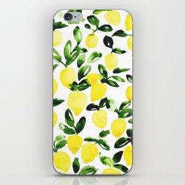 Summer Lemons iPhone Skin
