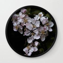 Beautiful Apple blossoms Wall Clock