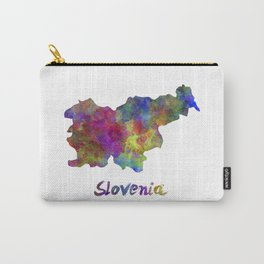 Slovenia in watercolor Carry-All Pouch