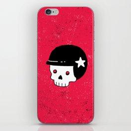 skull dude iPhone Skin