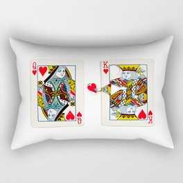 The King knows what the heart wants. Rectangular Pillow