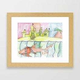 Hermit Crab's Castle Framed Art Print