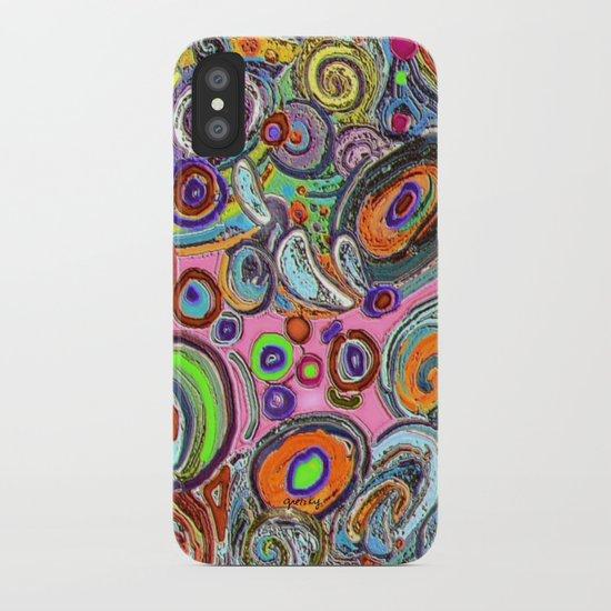 Abstracto Rocoso iPhone Case
