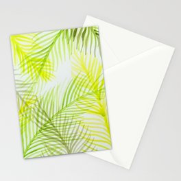 Painted Palm Fronds Stationery Cards