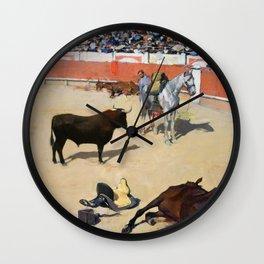 Ramon Casas - Bulls, Dead Horses - Digital Remastered Edition Wall Clock