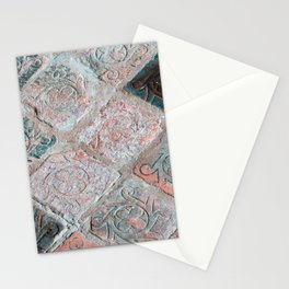 Brick Flooring of Old Mellifont Abbey Stationery Cards