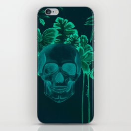 Skull jungle iPhone Skin