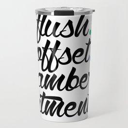 flush offset camber fitment v5 HQvector Travel Mug