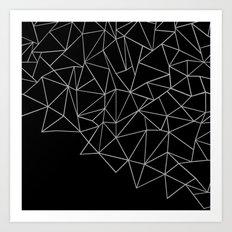 Ab Storm Black Art Print