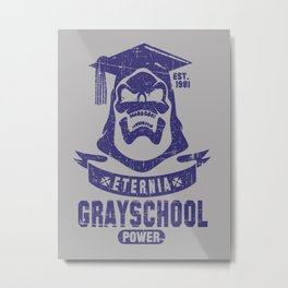The GraySchool Power II Metal Print