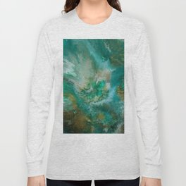 Dawning of a Galactic Planet Long Sleeve T-shirt