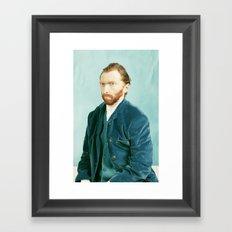 Vector Gogh Framed Art Print
