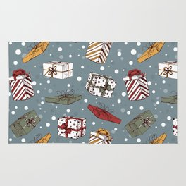 Chritmas gifts pattern Rug