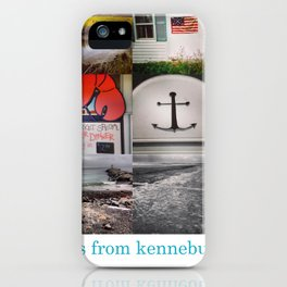 Greetings From Kennebunkport iPhone Case