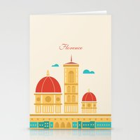 florence Stationery Cards featuring Florence by Marina Design