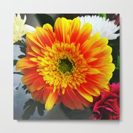 Big Flower Metal Print