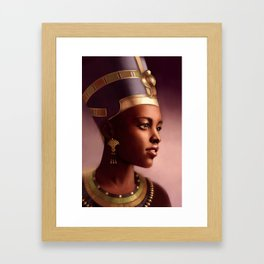 Nefertiti, Queen of Egypt Framed Art Print