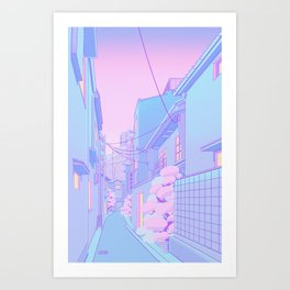 Osaka Morning Art Print