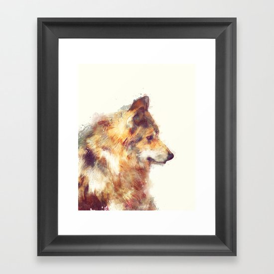 Wolf // True Framed Art Print