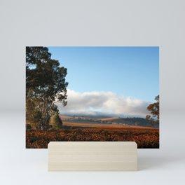 Barossa Valley Sunrise Landscape Mini Art Print