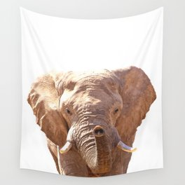 Elephant illustration Wall Tapestry