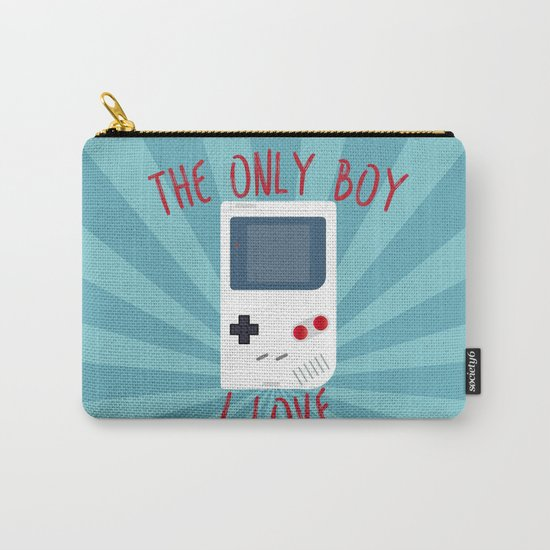The only BOY i love! Carry-All Pouch
