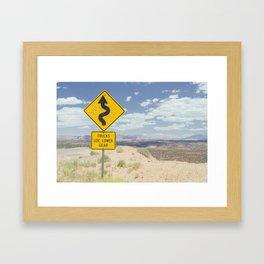 Lower Gear and a Shotgun Framed Art Print