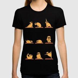 Pug Yoga T-shirt