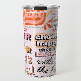 Orange Mood Travel Mug